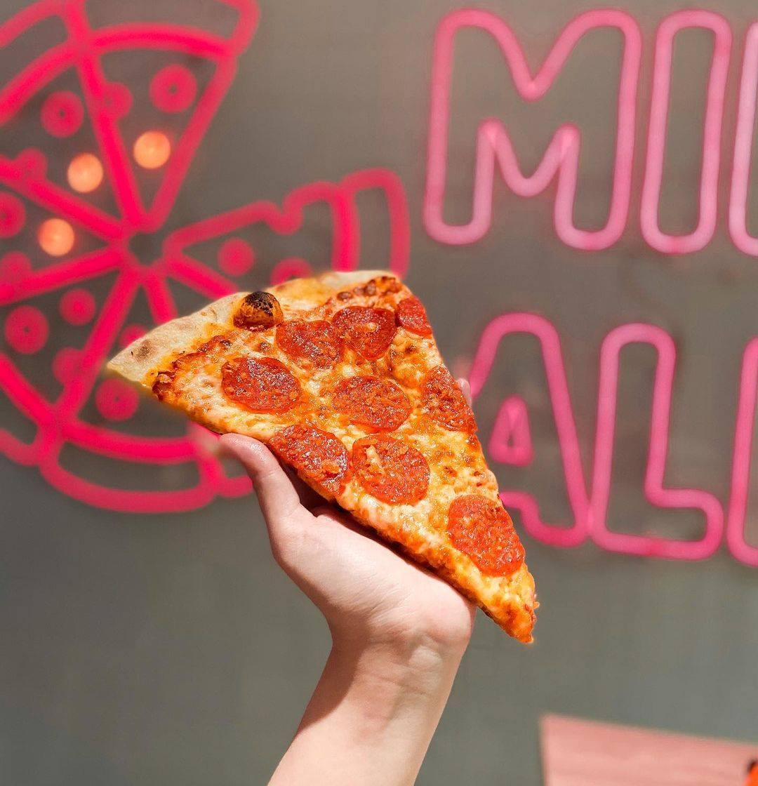 Soho Pizza Menu